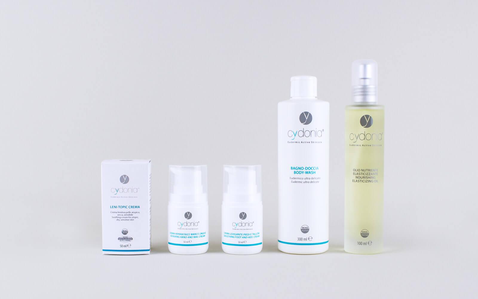 Prodotti della linea dia-derma corpo, per la cura e la bellezza della tua pelle