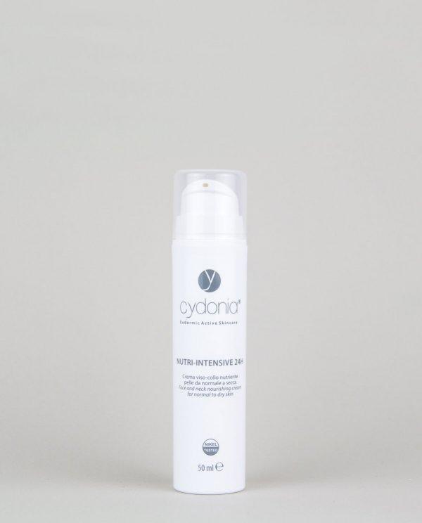 Nutri-Intensive 24H: crema viso pelle secca sensibile - Cydonia Cosmetici