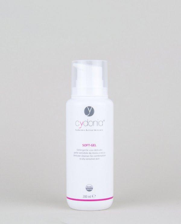 Soft-Gel: detergente viso delicato per pelli da miste a secche - Cydonia Cosmetici