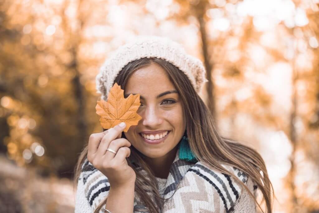 acne e arrossamenti cutanei in autunno